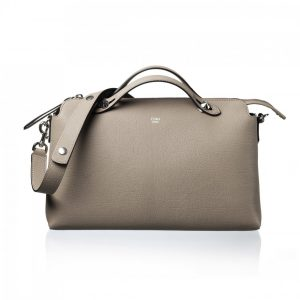 Fendi Boston By The Way Tote Bag Beige