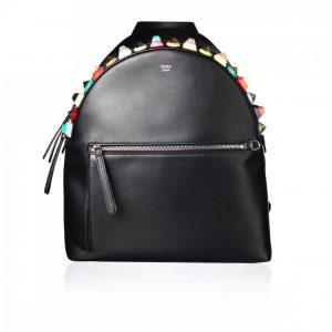 Fendi rygsæk med farvede studs